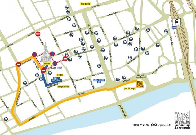 plan de circulation Argenteuil