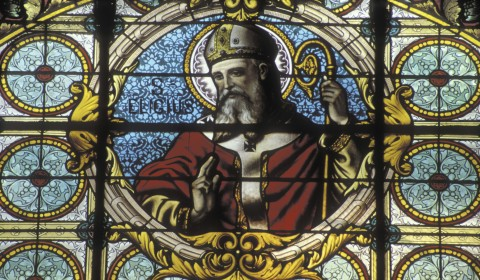 vitrail évêques